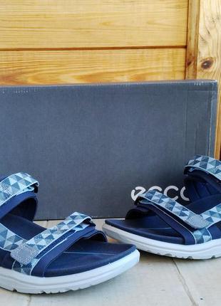 Стильные удобные легкие босоножки сандалии ecco x-trinsic ориг...
