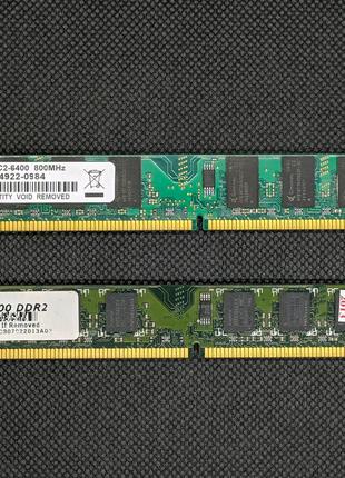 Оперативная память DDR2 по 2GB 800MHz