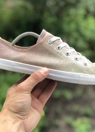 Converse all star chuck taylor dainty ox gold/particle beige/w...