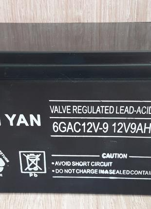 Аккумулятор 12V 9Ah/20HR