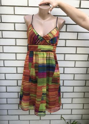 Платье,сарафан с открытой спиной, этно принт zara