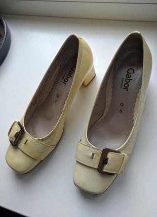 Туфли Gabor 38 лаковые