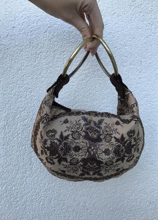 Винтажная гобеленовая сумочка