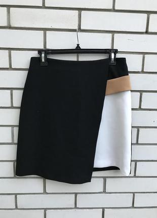 Геометрическая юбка zara