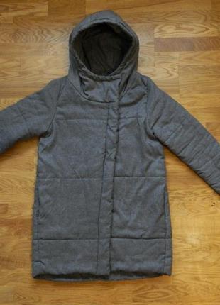 Куртка осенняя зимняя с капюшоном синтепон house