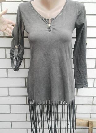 Платье(туника, кофта)с бахромой в бохо , этно стиле
