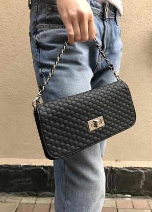 Вечерняя сумочка в стиле шанель