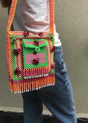 Яркая креативная,эксклюзив сумка,торба,кросбоди,ручной работы,...