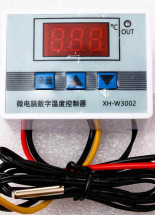 Терморегулятор термостат XH-W3002 220V (от -50 до 110)