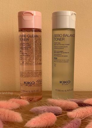 Тонери для обличчя kiko milano