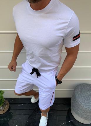Спортивный костюм Prada (шорты /футболка)