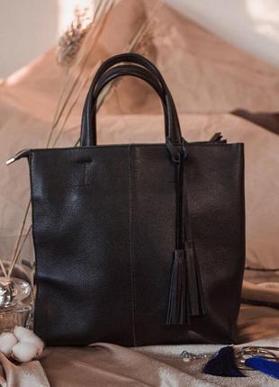 Женская классическая квадратная сумка, кожаная сумка шоппер с ...