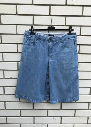 Голубая,джинсовая юбка,хлопок, большой размер,massimo dutti