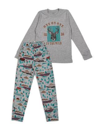 Пижама для мальчика. олени.