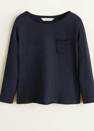 Кофточка футболка mango лонгслив