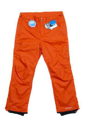 Лыжные штаны columbia bugaboo omni-heat. размер xl