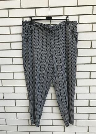 Повседневные штаны,брюки,карманы по боку,батал,большого размера