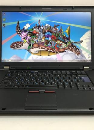 """Ноутбук 15,6"""" Lenovo T520/i5-2520M/4Gb DDR3/500Gb HDD"""