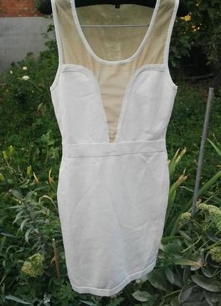 Платье футляр(мини)