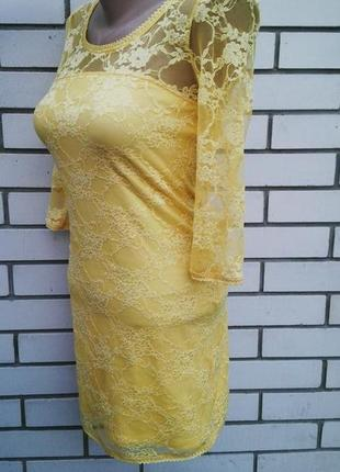 Новое кружевное платье футляр с открытой спиной