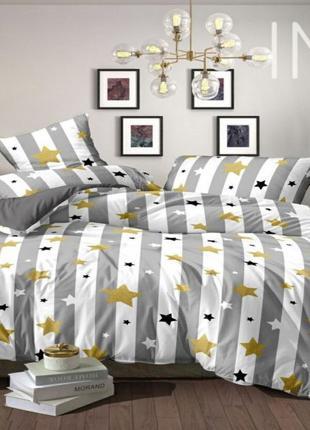 Евро комплекты постельного белья Звезды