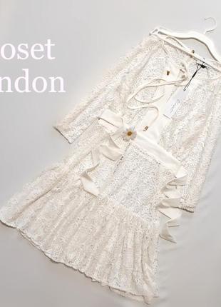 Белое платье- кружево