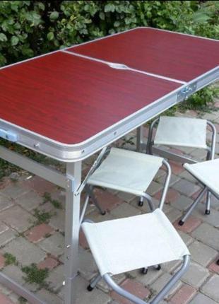 Стол для пикника Укрепленный/Усиленный+4 стула/Без предоплаты