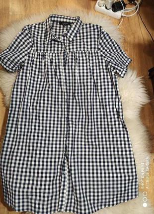 Платье-рубашка 52 размер