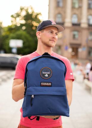 Рюкзак городской napapijri синий