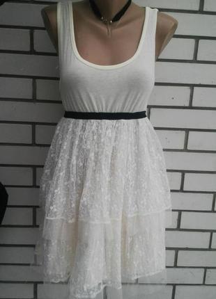 Нежное,кружевное платье,сарафан с открытой спиной