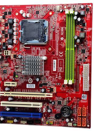 Материнская плата MSI MS-7366 DDR2 775 socket