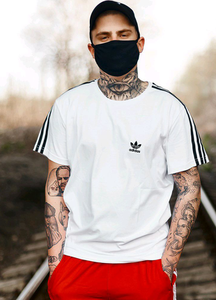 Футболка Adidas белая