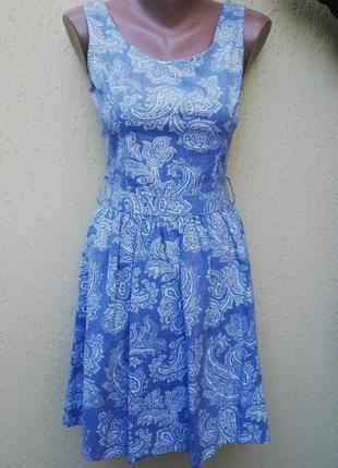 Джинсовое платье,сарафан  amisu