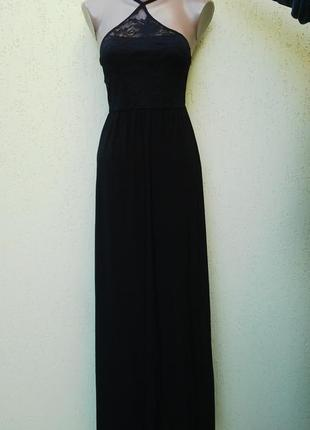 Очень красивое,вечернее,выпускное,кружевное платье,сарафан в п...