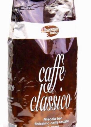 Кофе в зернах espresso italia caffe Classico 1 кг(Ита