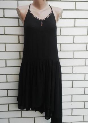 Красивое,ассиметриное, платье,сарафан,открытая спина,с воланам...