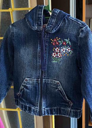 Джинсовая куртка на рост 98-104