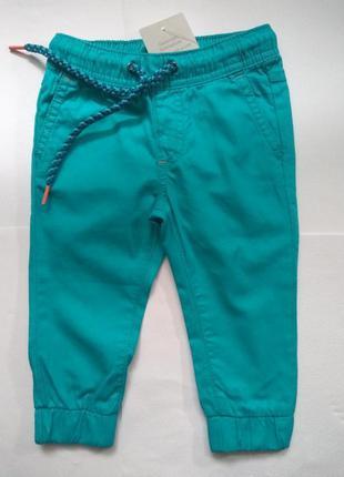 Летние штаны impidimpi для мальчика хлопчика 74/80