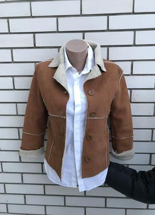 Красивая,тоненькая,легкая дубленка,куртка меховая,маленького р...