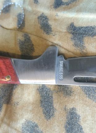 Нож раскладной маленький