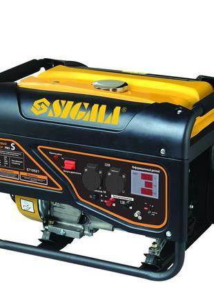 Генератор бензиновий 2.5/2.8кВт 4-х тактний Pro-S SIGMA (5710521)