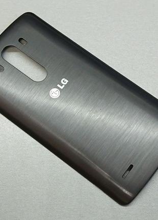 Задняя крышка LG G3 D855. Оригинал! Серый цвет. ACQ87482402