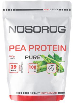 Протеин гороховый Nosorog Nutrition Pea Protein 700 г без вкуса