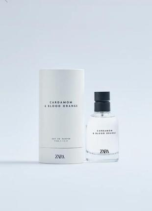 Zara.мужские духи.cardamom & blood orange 80ml