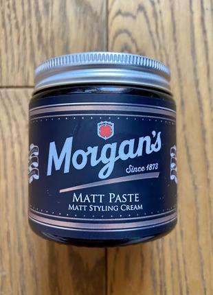 Паста для укладки волос Morgan's matt paste