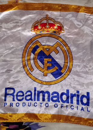 Флаг FC Real Madrid