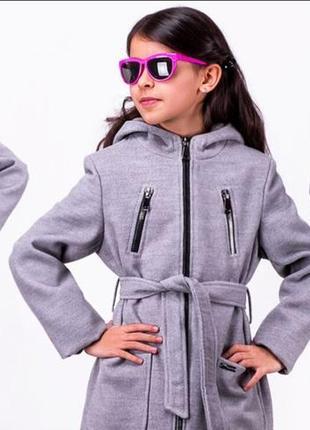 Пальто детское,подростковое, кашемир