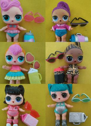 Куклы Лол / L.O.L./ Lol в одежде.