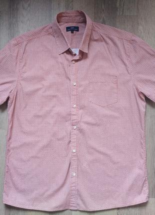 Мужская рубашка Easy размер L короткий рукав