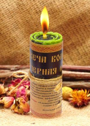 """Волшебная свеча """"Черная Полоса"""""""